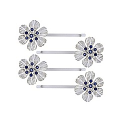 The Collection - Flower hair slide set