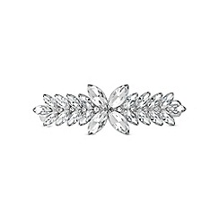 The Collection - Silver deco hair clip