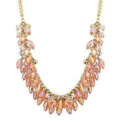 The Collection - Mixed pink bead shaker necklace
