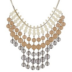 The Collection - Beaded shower statement necklace