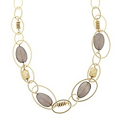 The Collection - Interlock circle chain necklace