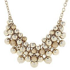The Collection - Beaded cluster statement necklace