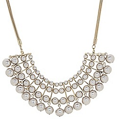 The Collection - Graduated pearl statement necklace