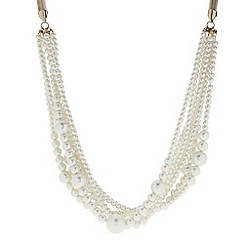 The Collection - Mixed pearl twisted necklace