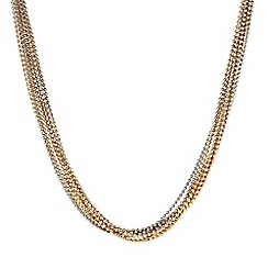 The Collection - Ball chain multi row necklace