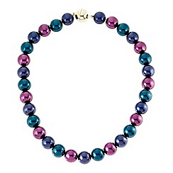 The Collection - Multicolour pearl magnetic necklace