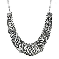 The Collection - Beaded loop collar necklace