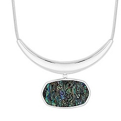 The Collection - Abalone torque necklace
