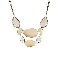 The Collection - Mother of pearl statement necklace