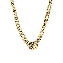 The Collection - Gold knotted necklace