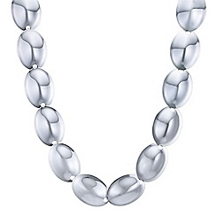 The Collection - Silver organic link necklace