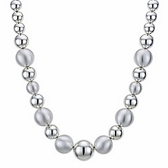 The Collection - Silver orb necklace