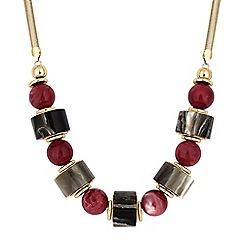 The Collection - Multi shape statement necklace