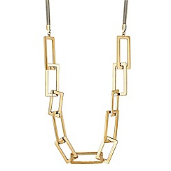 The Collection - Gold chain link necklace