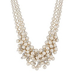 The Collection - Pearl cluster necklace