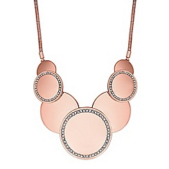 The Collection - Crystal pave circle necklace