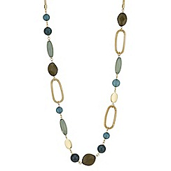 The Collection - Bead and mesh rope necklace