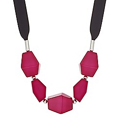The Collection - Mixed shape ribbon necklace