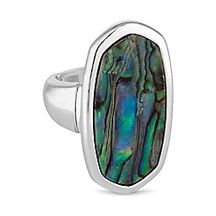 The Collection - Abalone statement ring