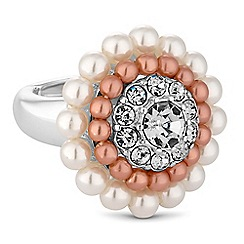 The Collection - Pearl cluster ring