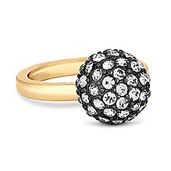 The Collection - Crystal encrusted ball ring