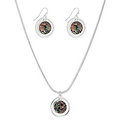 The Collection - Circle disc jewellery set