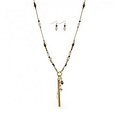 The Collection - Beaded charm tassel jewellery set