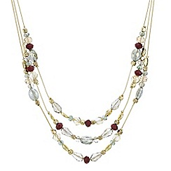 The Collection - Beaded multi row jewellery set
