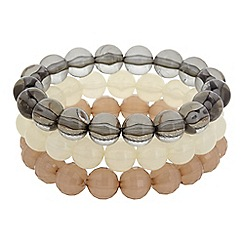 The Collection - Three pack beaded stretch bracelet