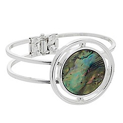 The Collection - Abalone hinged bangle