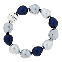 The Collection - Blue tonal pearl bracelet