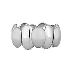 The Collection - Silver pebble bracelet
