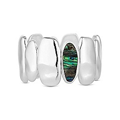 The Collection - Abalone pebble bracelet