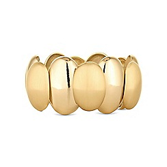 The Collection - Gold pebble bracelet