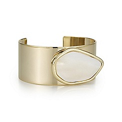 The Collection - Mother of pearl statement bracelet