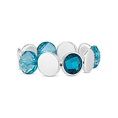 The Collection - Blue tonal crystal bracelet