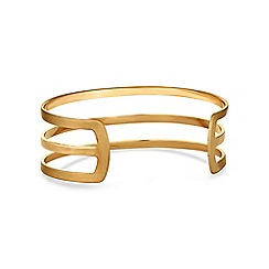 The Collection - Gold open cuff bangle