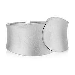 The Collection - Silver cross over bangle