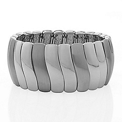 The Collection - Silver wave bracelet