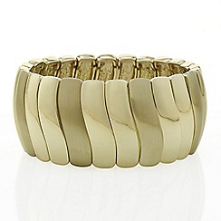 The Collection - Gold wave bracelet