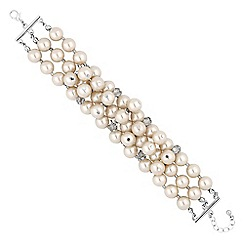 The Collection - Pearl cluster bracelet