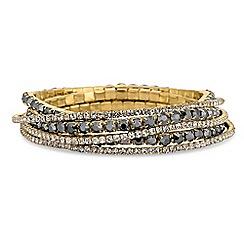 The Collection - Crystal stretch bracelet set