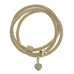 The Collection - Crystal charm bracelet set