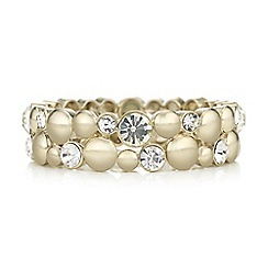 The Collection - Crystal double row bracelet
