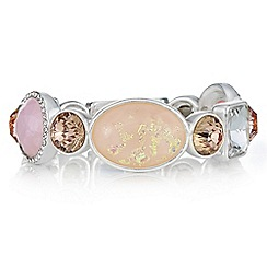 The Collection - Pink glitter crystal bracelet