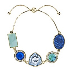 The Collection - Crystal toggle bracelet