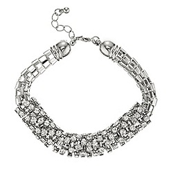 The Collection - Crystal tube bracelet