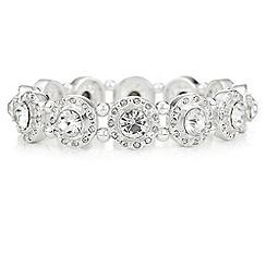 The Collection - Crystal halo stretch bracelet
