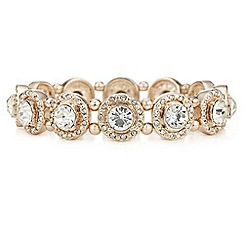 The Collection - Crystal halo stretch bracelet