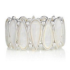 The Collection - Mother of pearl peardrop bracelet